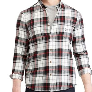 CHAPS Long sleeve Mens Flannel Shirt